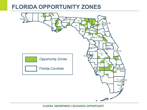 Florida Opportunity Zones - Palm Beach - Commercial Real Estate Investing